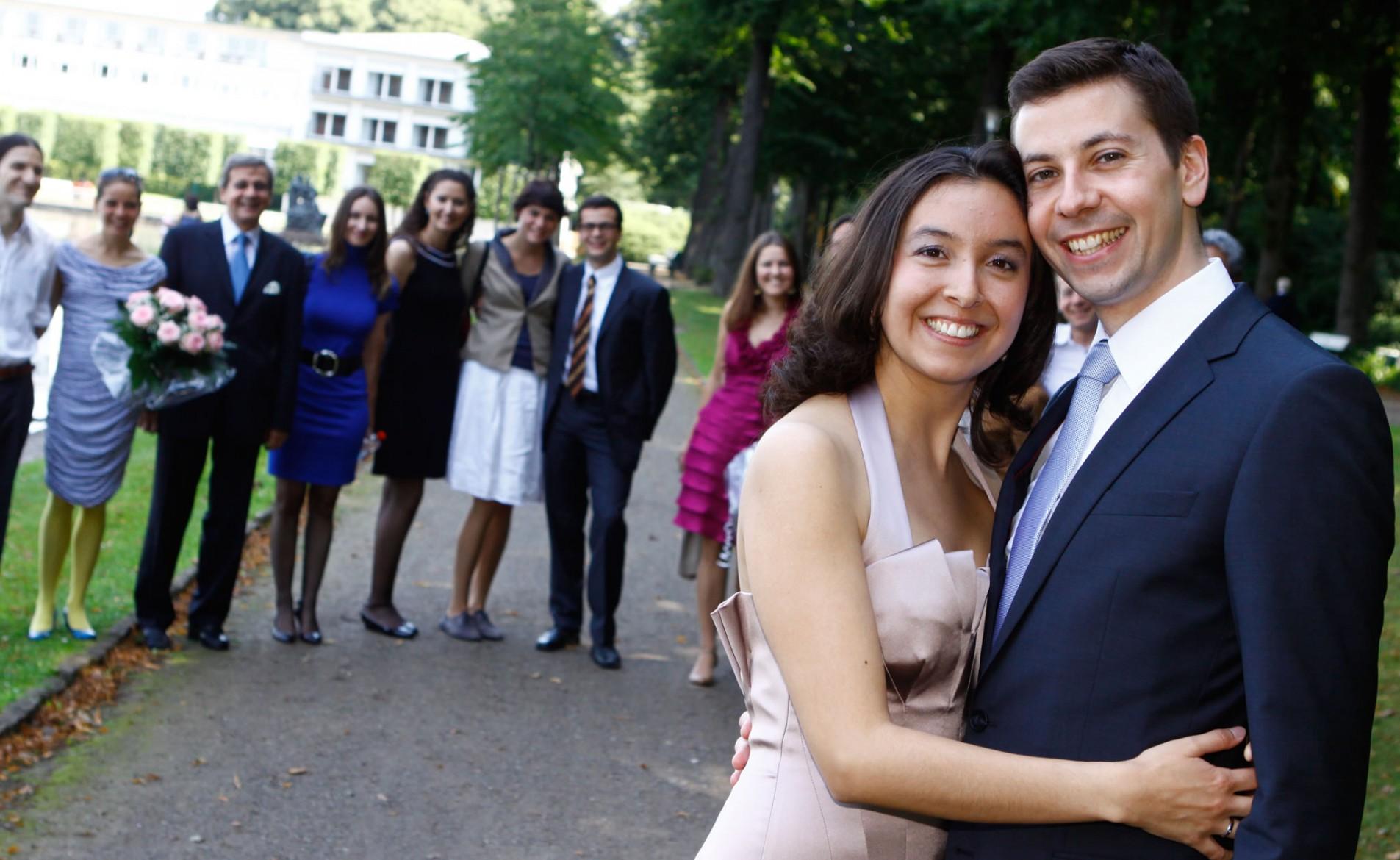 Ksenia und Thomas heiraten in Bremen