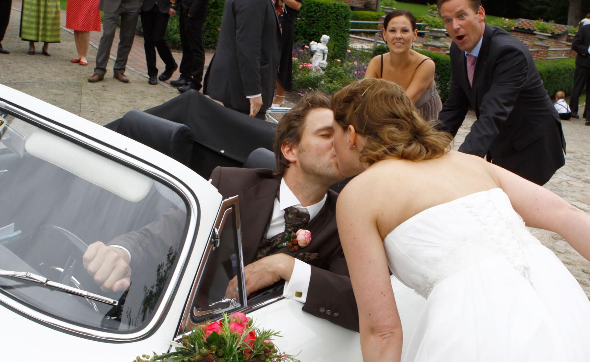 Claudia und Lars Hochzeit