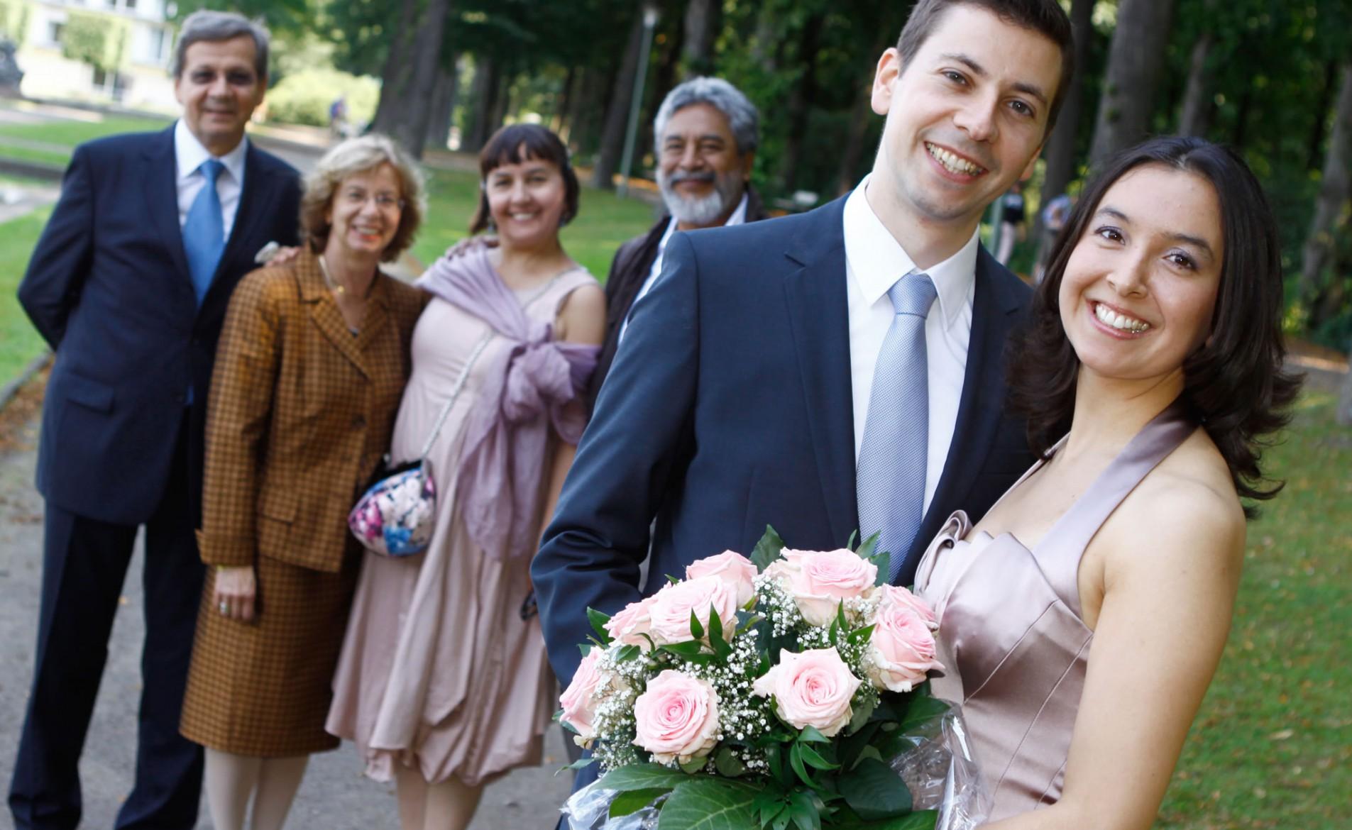 Ksenia und Thomas Hochzeit im Parkhotel